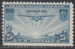 UNITED STATES     SCOTT NO.  C20     MINT HINGED       YEAR  1935