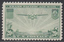 UNITED STATES     SCOTT NO.  C21    MINT HINGED     YEAR  1937