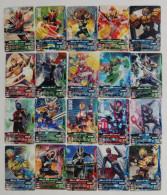 Kamen Rider  : 20 Japanese Trading Cards - Trading Cards