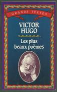 LIVRE - VICTOR HUGO : LES PLUS BEAUX POÈMES - Autori Francesi