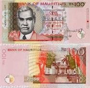 MAURITIUS       100 Rupees       P-56[e]       2013       UNC - Mauritius