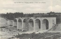 VIADUC DE LA THONNE (Montmedy) - Ligne De Saint Jean D'Angely à Saintes.sa Construction. - Ouvrages D'Art