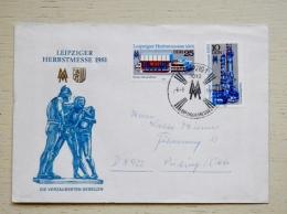 Cover Sent From Germany DDR 1981 - [6] Repubblica Democratica