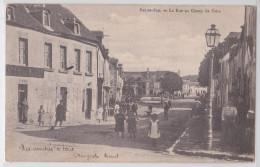 Pré-en-Pail - La Rue Au Champ De Foire - Café De La Mairie 1903 - Pre En Pail