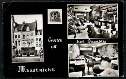 8396 - Alte Ansichtskarte - Maastricht - Cafe Restaurant Het Paradijs - N. Gel - Maastricht