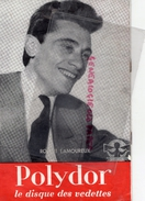 PROGRAMME CANETTI-2E FESTIVAL VEDETTES DISQUE 1951-DARY COWL-MICHEL LEGRAND-ROBERT LAMOUREUX-LES 4 BARBUS-FRANCOIS - Programmi