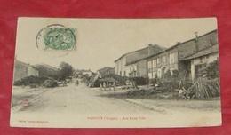 88 - Padoux - ( Vosges ) - Rue Basse Ville :::: Tampon 1907   ------- 390 - France