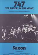 Partition Sheet Music SAXON / 747 / 1980 - Musik & Instrumente