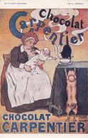 LES AFFICHES CELEBRES  PAR H. GERBAULT   CHOCOLAT CARPENTIER EDIT.RAPHAEL TUCK - Werbepostkarten