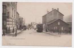 54 MEURTHE ET MOSELLE - LONGWY GOURAINCOURT Tramway,  Pionnière - Longwy