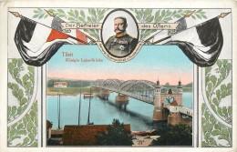 TILSIT - Kônigin Luise-Brücke. - Ostpreussen