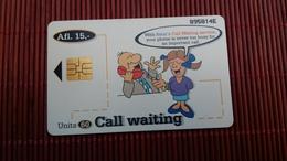 Phonecard Aruba Only 80.000 Made  Used Rare - Aruba