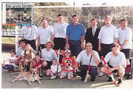 D27441 CARTE MAXIMUM CARD FD 1998 NETHERLANDS - FIELD HOCKEY CP REPROCARD - Hockey (Field)