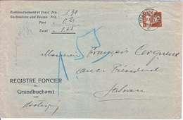 REGISTRE FONCIER - DE MARTIGNY-BOURG A SALVAN- NUM 175 - OBL DU 9.11.1927 - - Svizzera