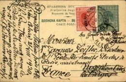 YOUGOSLAVIE - Entier Postal + Complément Pour La France En 1930 - A Voir - L 5652 - Postal Stationery