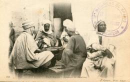 JEUX DE DOMINOS(TYPE) ALGERIE - Cartes Postales