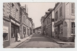 76 - VALMONT / RUE JULES CROCHEMORE - LA BOUCHERIE ET LE CAFE DE LA CONCORDE - Valmont