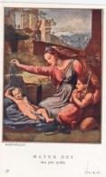 """SANTINO  HOLY CARD - MATER DEI - Edizioni: I. I. A. G. - N. 38 - """" CROMO"""" *** - Santini"""