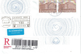 B 53, Hungary, Used Cover, 2015 + IPH - Covers & Documents