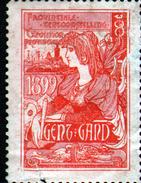 VIGNETTE ( SANS GOMME ) DE L'EXPOSITION DE GAND 1897 - Expositions Universelles