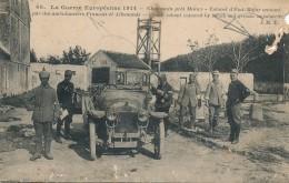 MILITARIA - Chauconin Près Meaux - Colonel D'état Major Entouré Par Des Ambulancier Français Et Allemands - Equipment