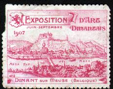 VIGNETTE ( SANS GOMME ) DE L'EXPOSITION DE GAND 1907, En L'état - Expositions Universelles