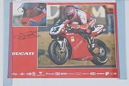 Ducati 916 Superbike 1997 Fogarty Manifesto Poster Originale-genuine Vintage Poster-affiche Originale-Originalposter - Plaques Publicitaires