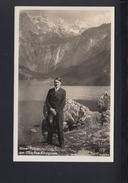 Dt. Reich AK Adolf Hitler Am Obersee Königssee - Historische Figuren