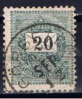 H+ Ungarn 1888 Mi 35 Ziffer Auf Brief - Gebraucht