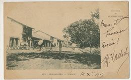 Saigon  Rue Lagrandiere Timbrée 1903 - Vietnam