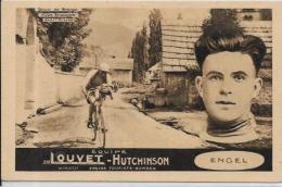 CPA Cyclisme Sport Cycle Vélo Non Circulé Tour De France ENGEL Publicité HUTCHINSON - Radsport