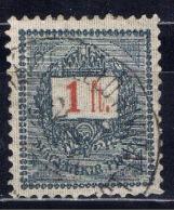 H+ Ungarn 1888 Mi 39 Ziffer Auf Brief - Gebraucht