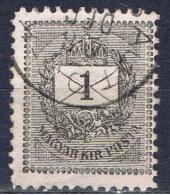 H+ Ungarn 1888 Mi 41-42 Ziffer Auf Brief - Gebraucht