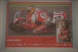 Ducati 996 Superbike 1997 Hogdson Manifesto Poster Originale-genuine Vintage Poster-affiche Originale-Originalposter - Altri