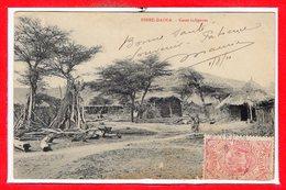 AFRIQUE --  ETHIOPIE --  Dirré Daoua - Cases Indigène - Ethiopia