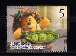 China-Taiwan, Formosa 2012 Mi Nr 3745 ; Old Story : Mr. Pricklepants - Gebraucht