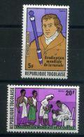 TOGO ( POSTE ) : Y&T N°  912/913  TIMBRES  NEUFS  SANS  TRACE  DE  CHARNIERE , A  VOIR . - Togo (1960-...)