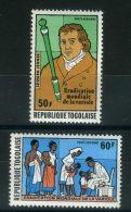TOGO ( AERIEN ) : Y&T N°  336/337  TIMBRES  NEUFS  SANS  TRACE  DE  CHARNIERE , A  VOIR . - Togo (1960-...)
