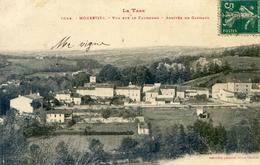 Tarn - Monesties - Vue Sur Le Faubourg - Arrivée De Carmaux - Monesties