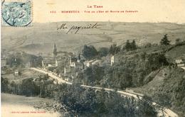 Tarn - Monesties - Vue De L'est Et Route De Carmaux - Monesties
