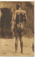 Angola Tipo Do Cuamato Handsome Nude Black Man  String  Edit No 576 Ferreira Ribeiro - Angola