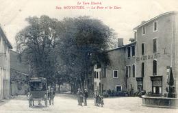 Tarn - Monesties - La Poste Et Les Lices - Avec Le Courrier - Monesties