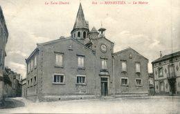 Tarn - Monesties - La Mairie - Monesties