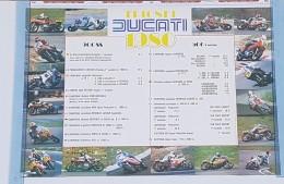 Ducati 900 SS Pantah Vittorie 1980 Manifesto Poster Concessionario Originale -genuine Dealer Poster-affiche Originale - Plaques Publicitaires