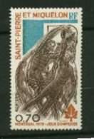 St Pierre Et Miquelon **   N° 450 - J.O De Montréal - St.Pierre & Miquelon
