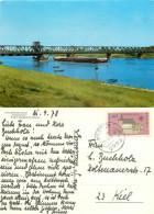 Friesenbrucke Bridge, Weener / Ems, Germany Postcard Posted 1978 Stamp - Leer