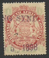 Rhodesia, British South Africa Company, 1 P, 1896, Sc # 27, Mi # 26I, Used. - Great Britain (former Colonies & Protectorates)