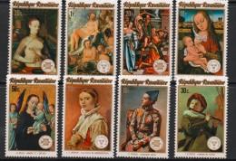 1974 Rwanda Rwandaise  Paintings Art Picasso  Complete Set Of  8 MNH. - Rwanda