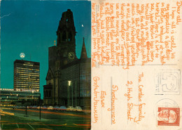 Europa Center, Berlin, Germany Postcard Posted 1971 Berlin Stamp - Mitte