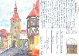 Neustadt A D Aisch, Germany Postcard Posted 1998 Stamp - Allemagne